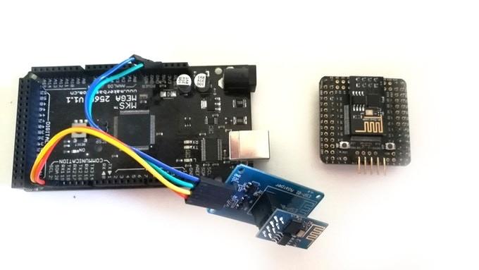 Arduino Mega with Wifi vs HeroCore with Wifi (ESP-01)