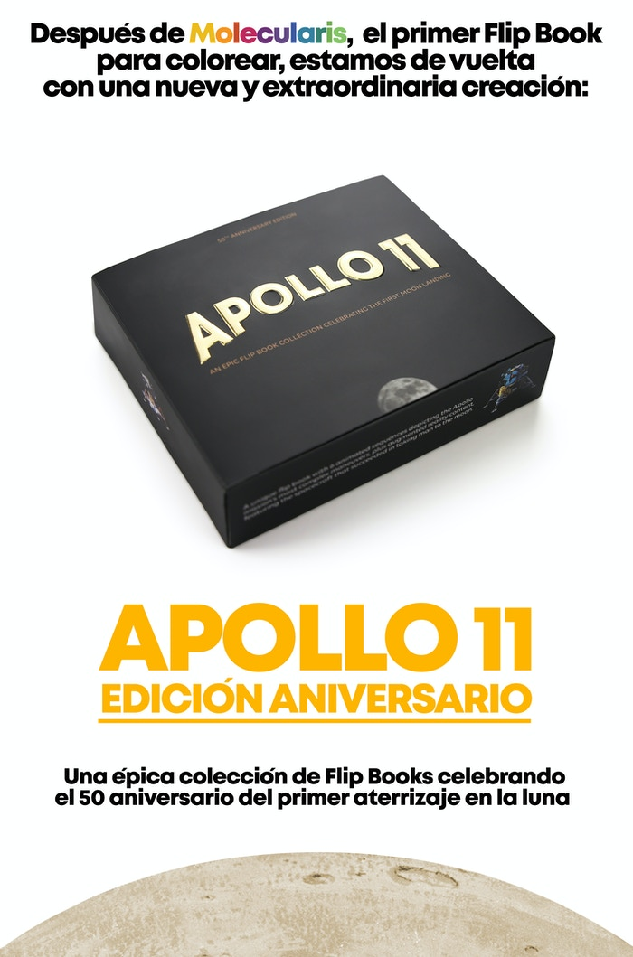 Apollo 11 - An Epic Moon Landing Flip Book Edition by