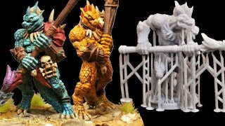 3D Printed Minis? The Future is Now! (Click Above Thumbnail To Watch)