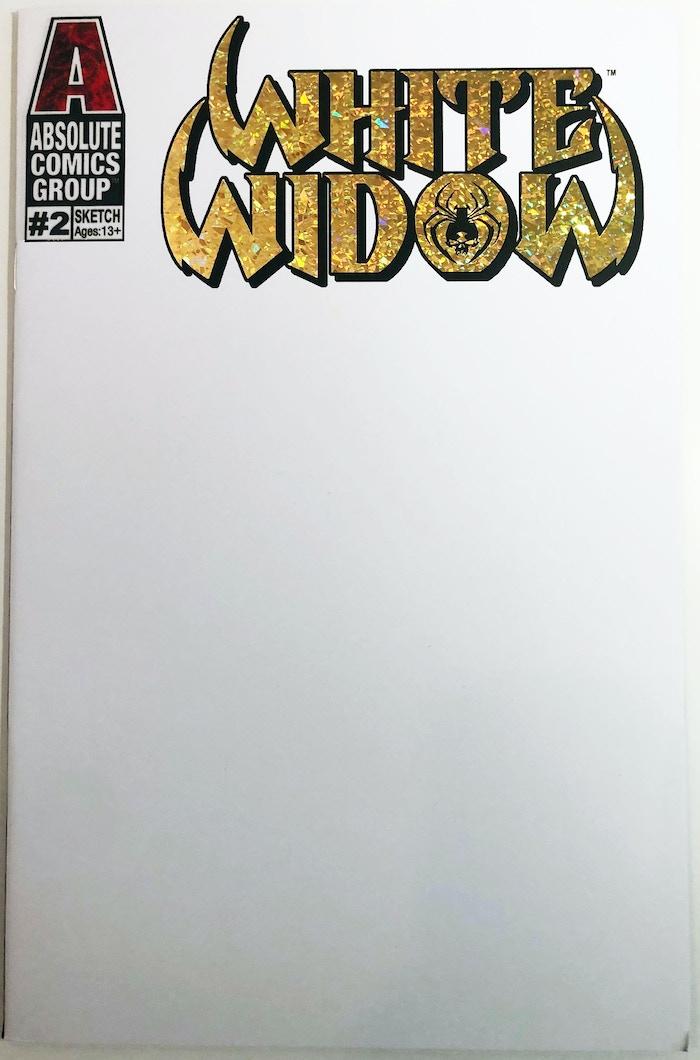 WW02N - Blank Sketch Cover with Goild Foil logo