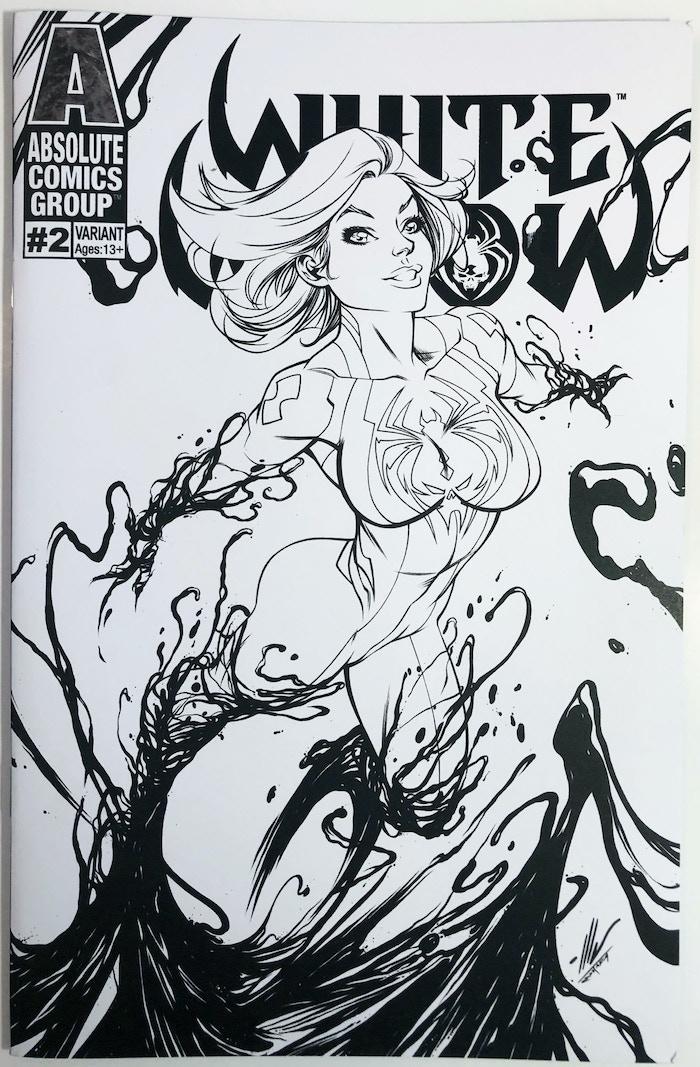WW02S - Sketch Garza (Coloring Book Cover)
