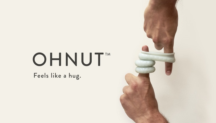 Ohnut is the first intimate wearable designed to be stackable, allowing you to customize how deep penetration goes.Set it, forget it, and play.