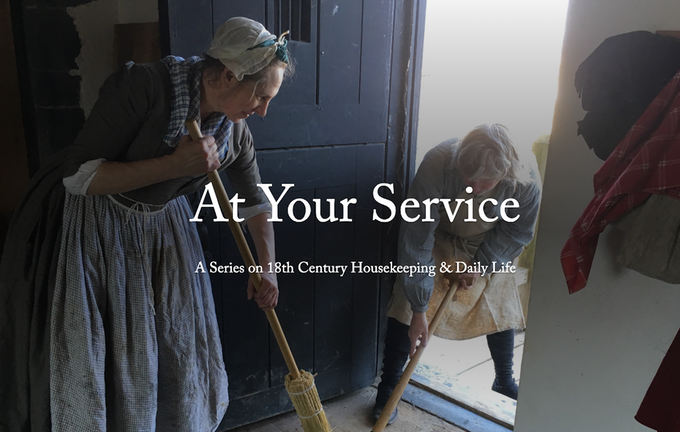 Click for a Digital Intro to 18th Century Housekeeping