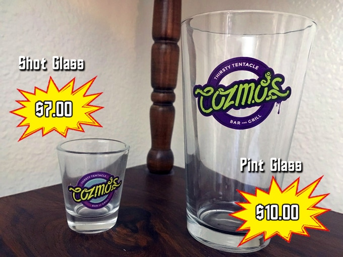 Shot Glass & Pint Glass Add-ons