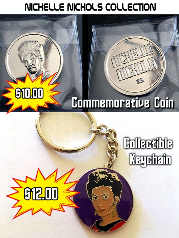 If you're a Nichelle fan, they are a must have