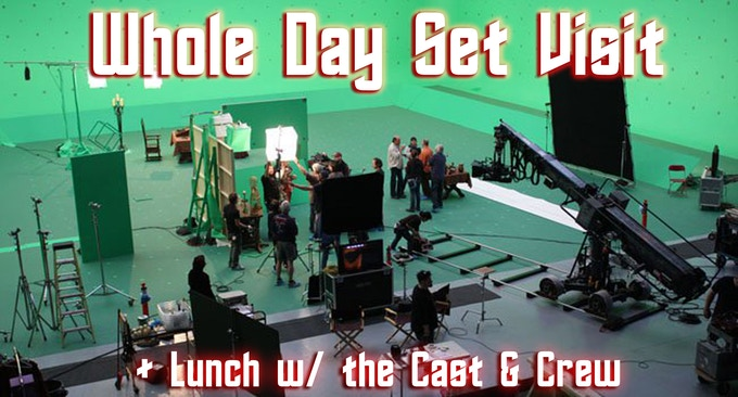 Come & Visit the Set + have Lunch with us