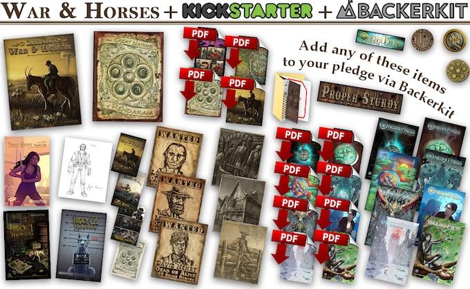 War and Horses | Illustrated Novel | Break Kickstarter