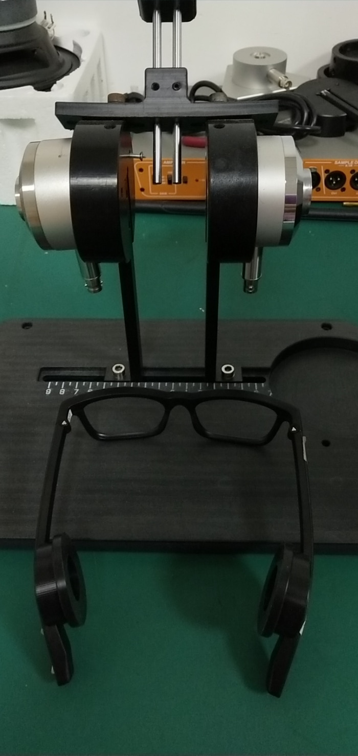 Transducer test fixture