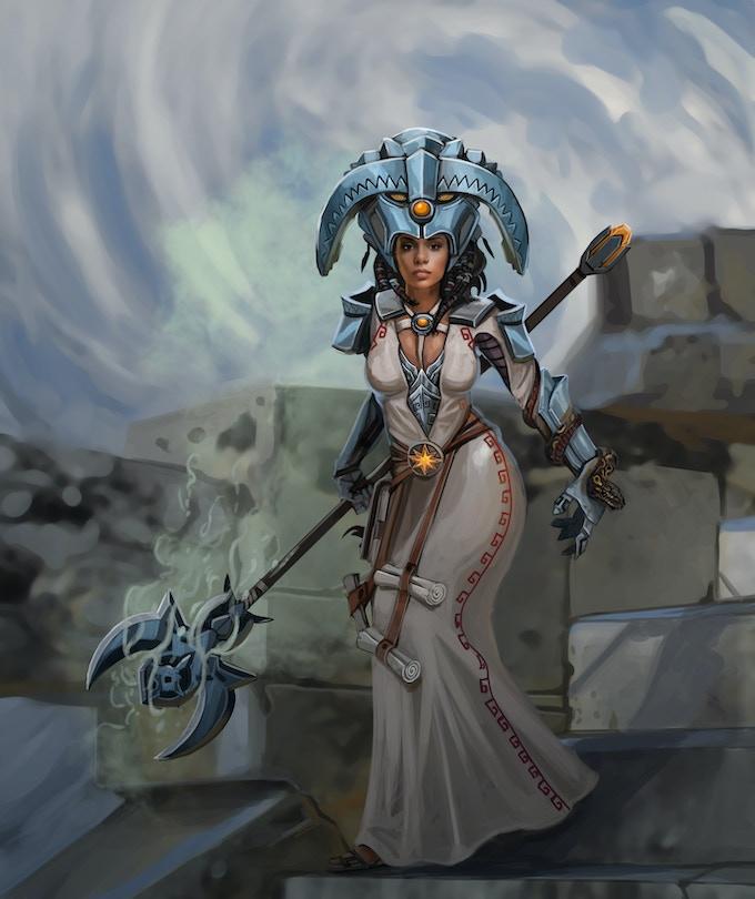 Enchient, Sorceress of Black Sun