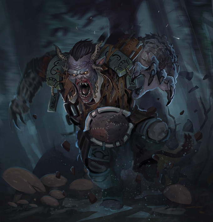 Spirit Wardens, Rage Beast