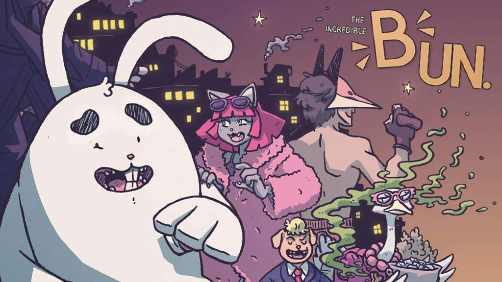 Project image for THE INCREDIBLE BUN! #2. An all-ages story from MADIUS COMICS