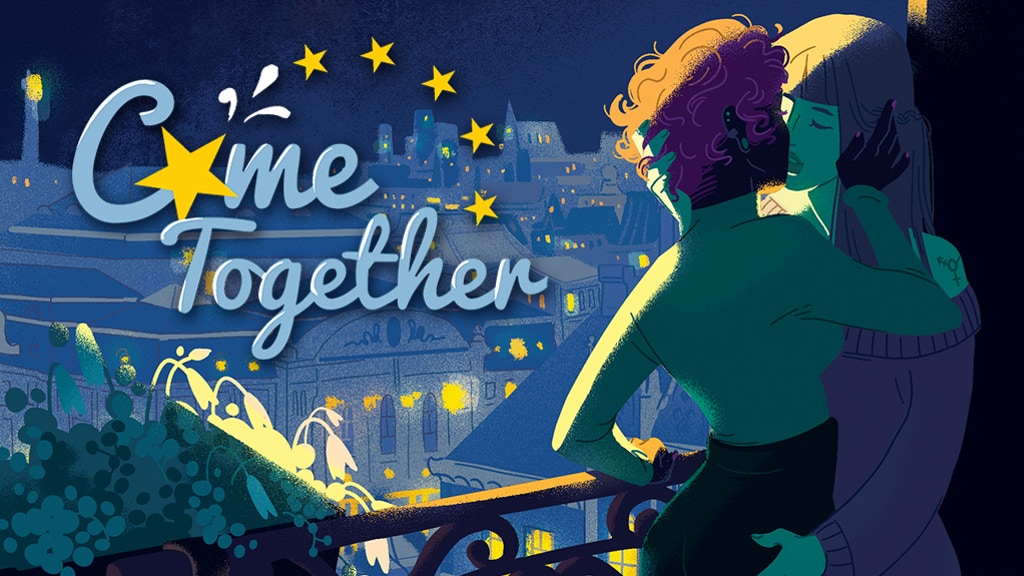 Project image for Come Together - A European Anthology of Erotic Comics