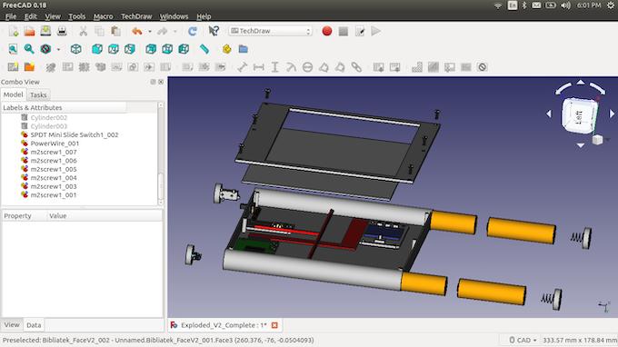 CAD tear down.