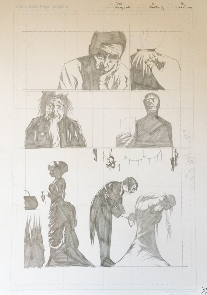 Original Art Page 7 - Sam Bentley - 'They Never see it Coming' Page 3 - Cognition #0