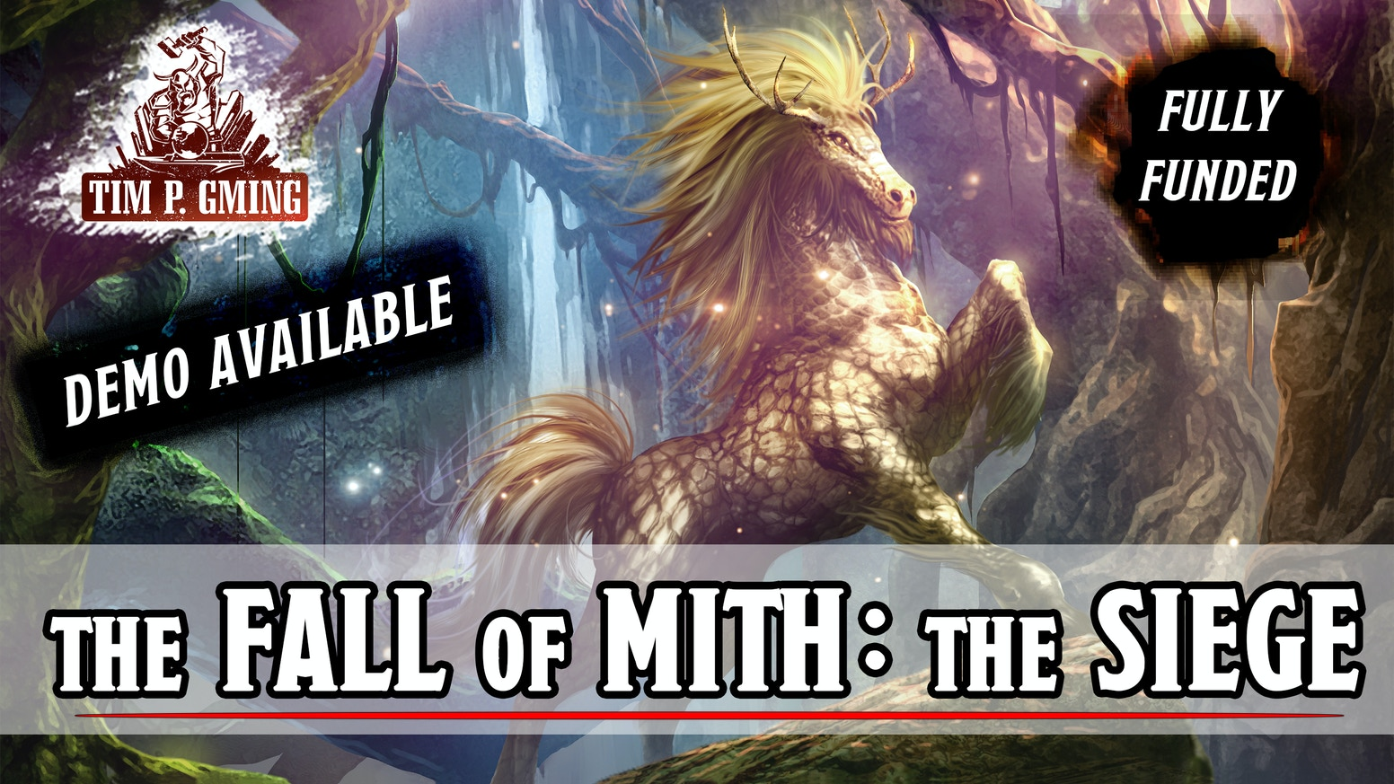 The sequel to the successful Kickstarter backed 5E compatible adventure, the Fall of Mith: Mithos Manor.
