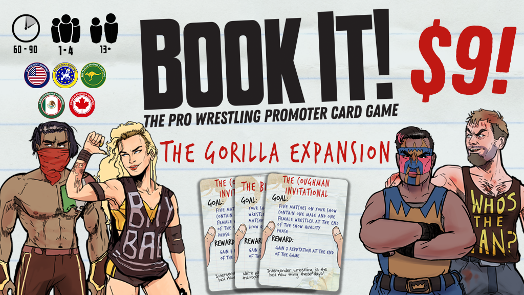 Project image for Book It! Expansion 1: The Gorilla Expansion