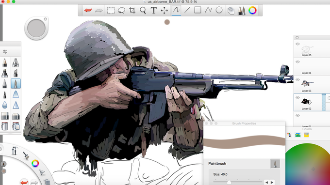 US Airborne With BAR - work in progress