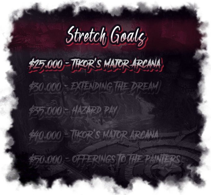 Stretch Goals are Unlocked!