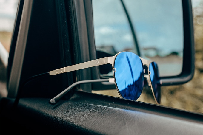 WOLT - Changeable, folding sunglasses with anti-lost system