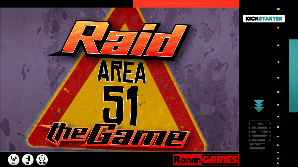 Project image for Raid Area 51 the Game