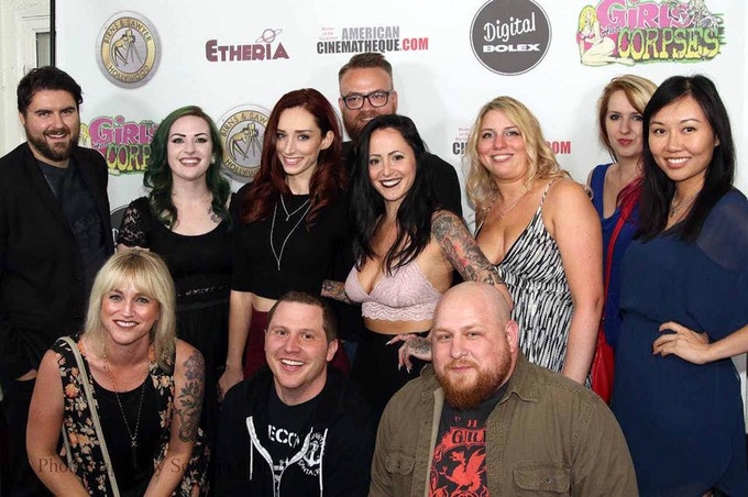 The team at the world premiere of the short film at Etheria Film Night 2016.