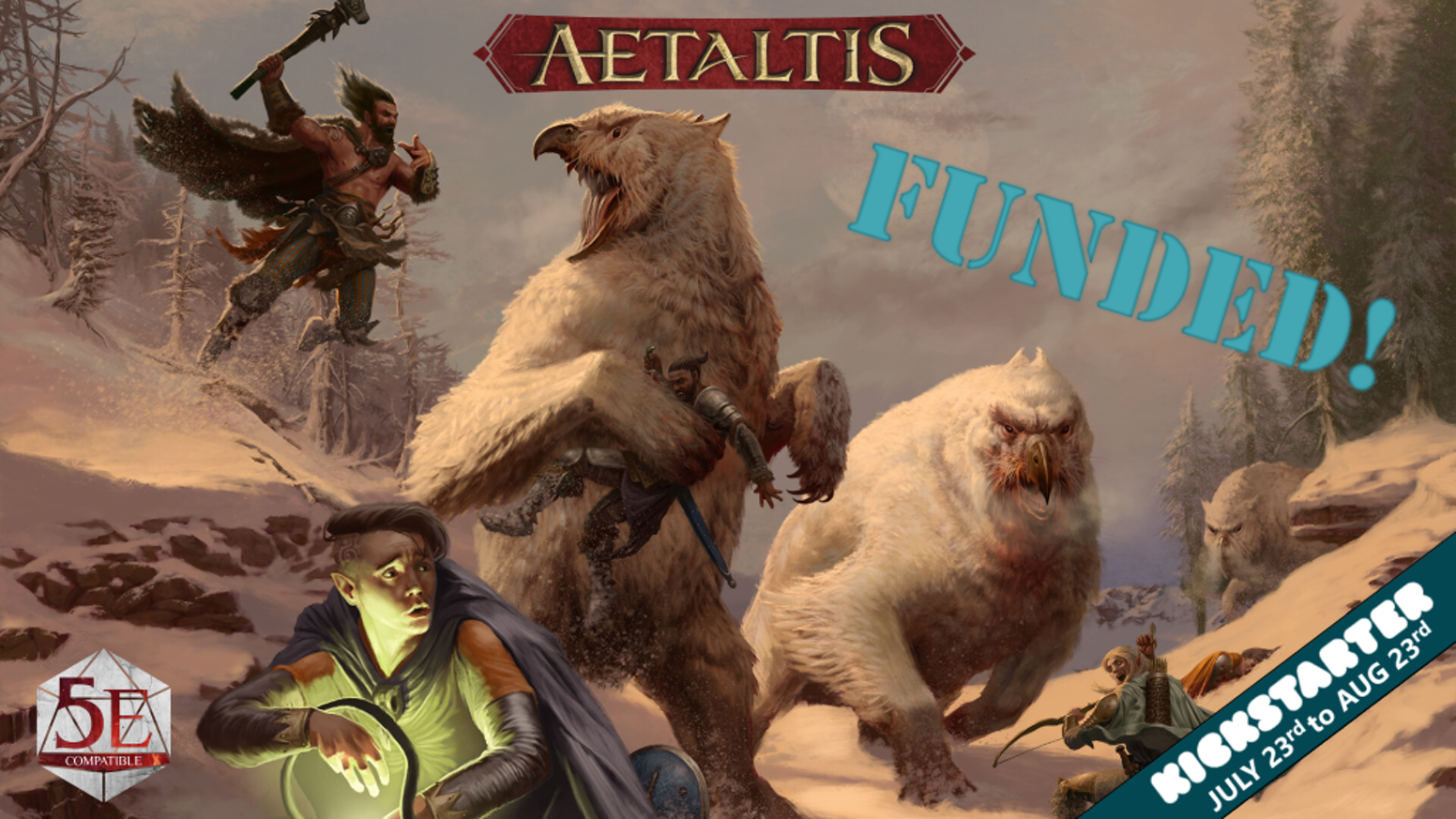 World of Aetaltis - RPG Campaign Setting for 5E by Marc
