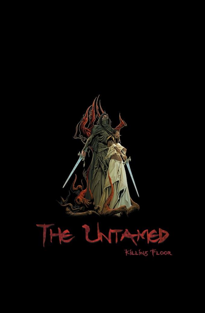 THE UNTAMED: Killing Floor Hardcover Art by Jae Lee