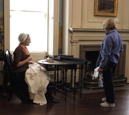 Interpreting Servants' Work in Providence, RI