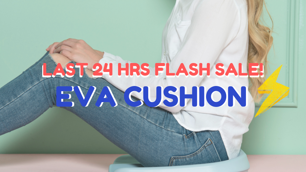 EVA Cushion v2.0: Improve Your Sitting Posture Today! project video thumbnail