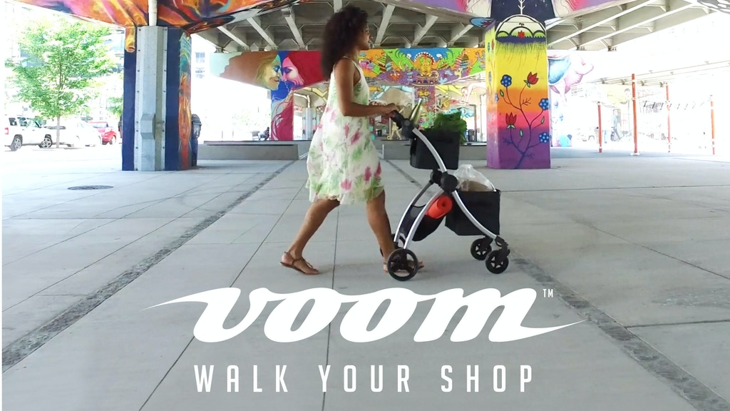 VOOMcart : Revolutionizing the personal shopping cart project video thumbnail