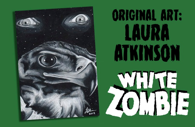 WHITE ZOMBIE and THE APE trading card promo cards
