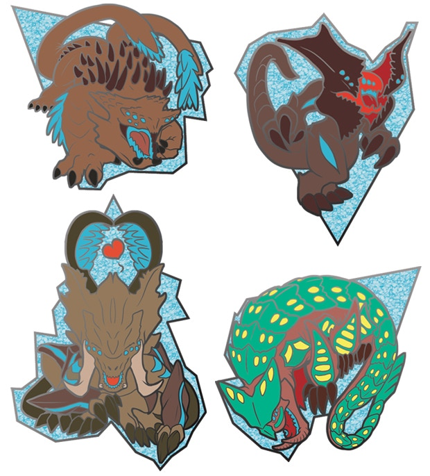 Kawaiiju Cute Kaiju Of Pacific Rim Enamel Lapel Pins 2 By Kari L Korthals Kickstarter It protects the breach from the jaegers along with scunner and slattern. cute kaiju of pacific rim enamel lapel