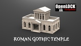 The 3D printable Roman Gothic Temple thumbnail