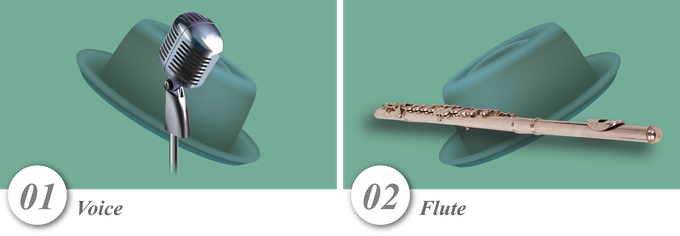 No. 01—Voice • No. 02—Flute