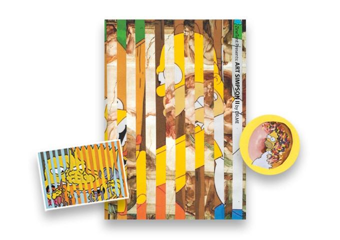 - ART SIMPSON II ZINE + STICKERS (£8.00) -