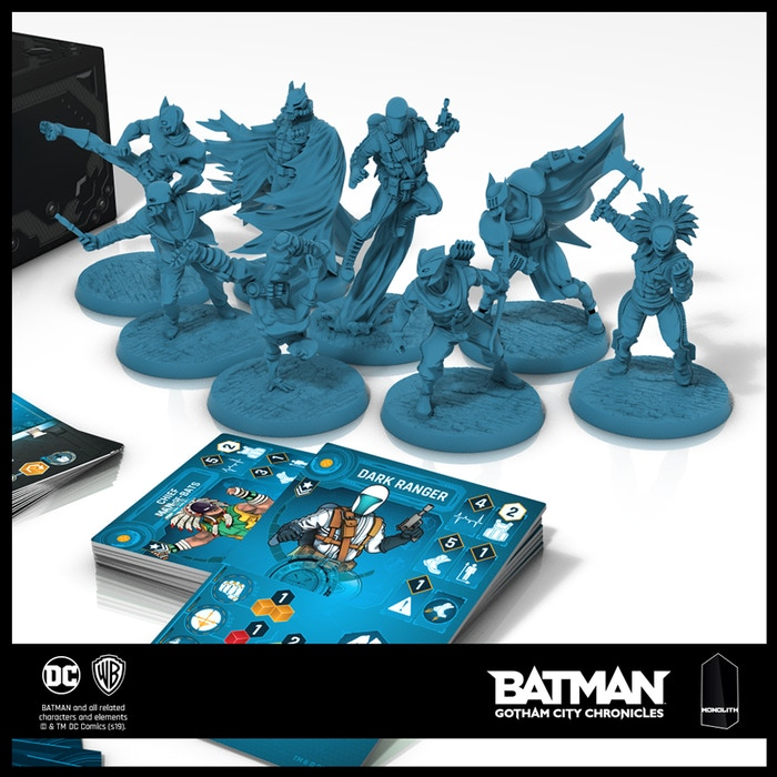 Batman: Gotham City Chronicles - Season 2 by Monolith Board Games