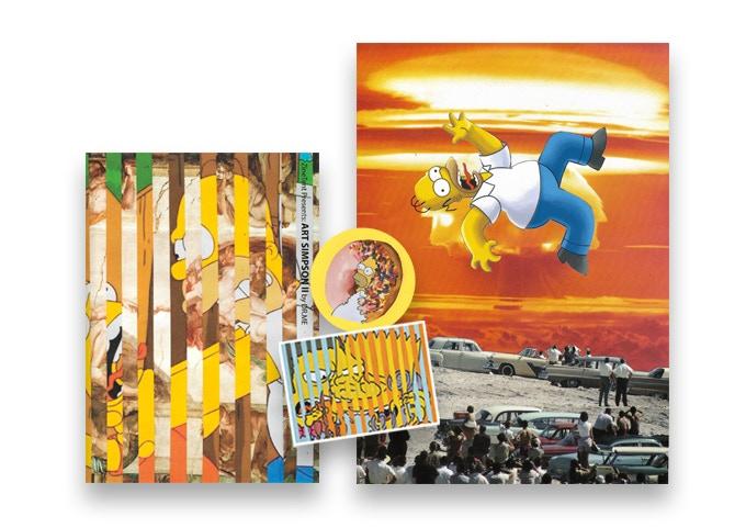 - ART SIMPSON II ZINE + ORIGINAL ARTWORK 3/5 (£100.00) -