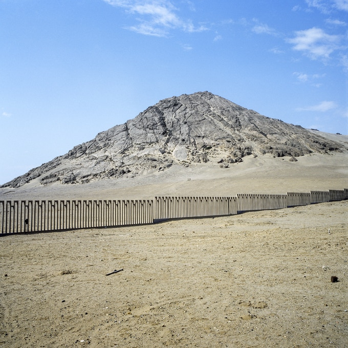 "Huaca de la Luna, Trujillo, Peru - Signed Limited Edition 24x24"" Print"