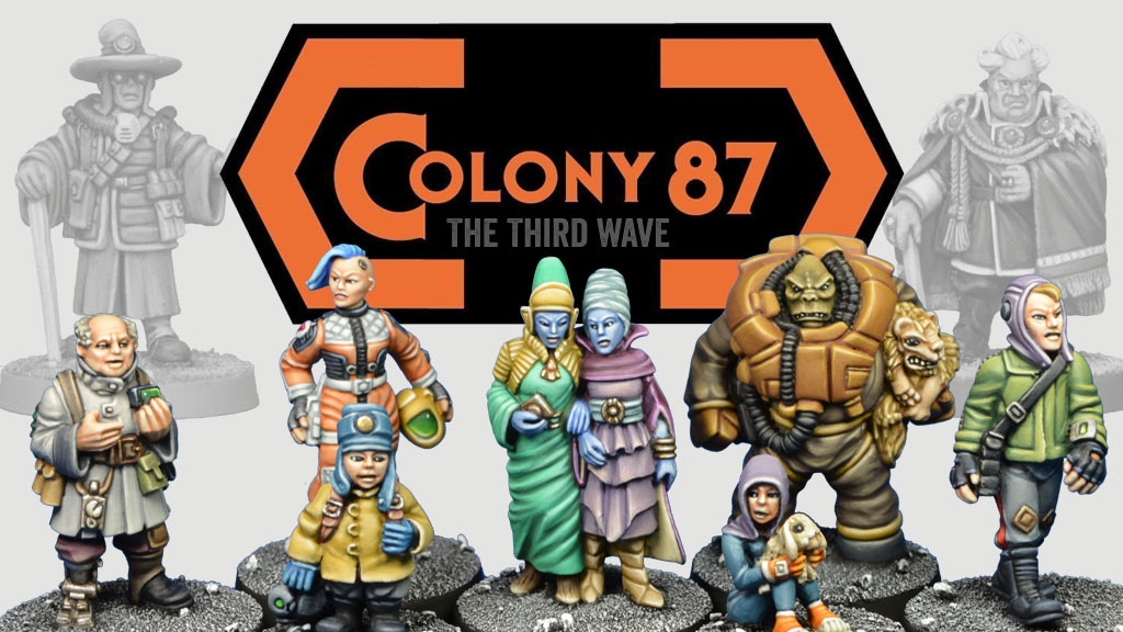 Project image for Colony 87 - The Third Wave - 28mm Sci-Fi Civilians