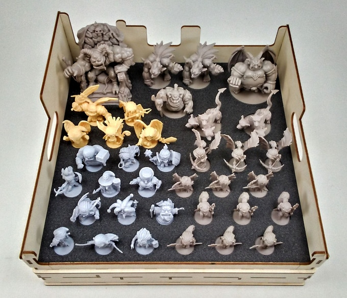 Ready To Play Storage for Miniatures