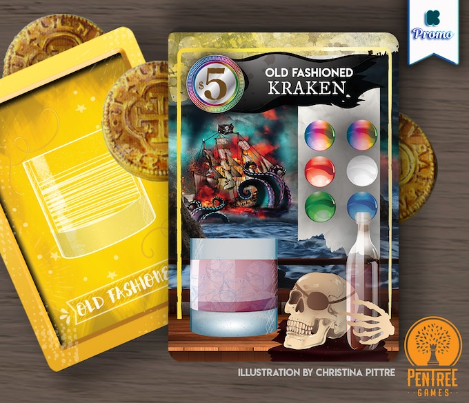 Signature Card Kraken |  Published by Minion Games