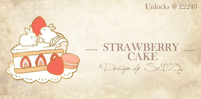 Strawberry Cake by sr1023