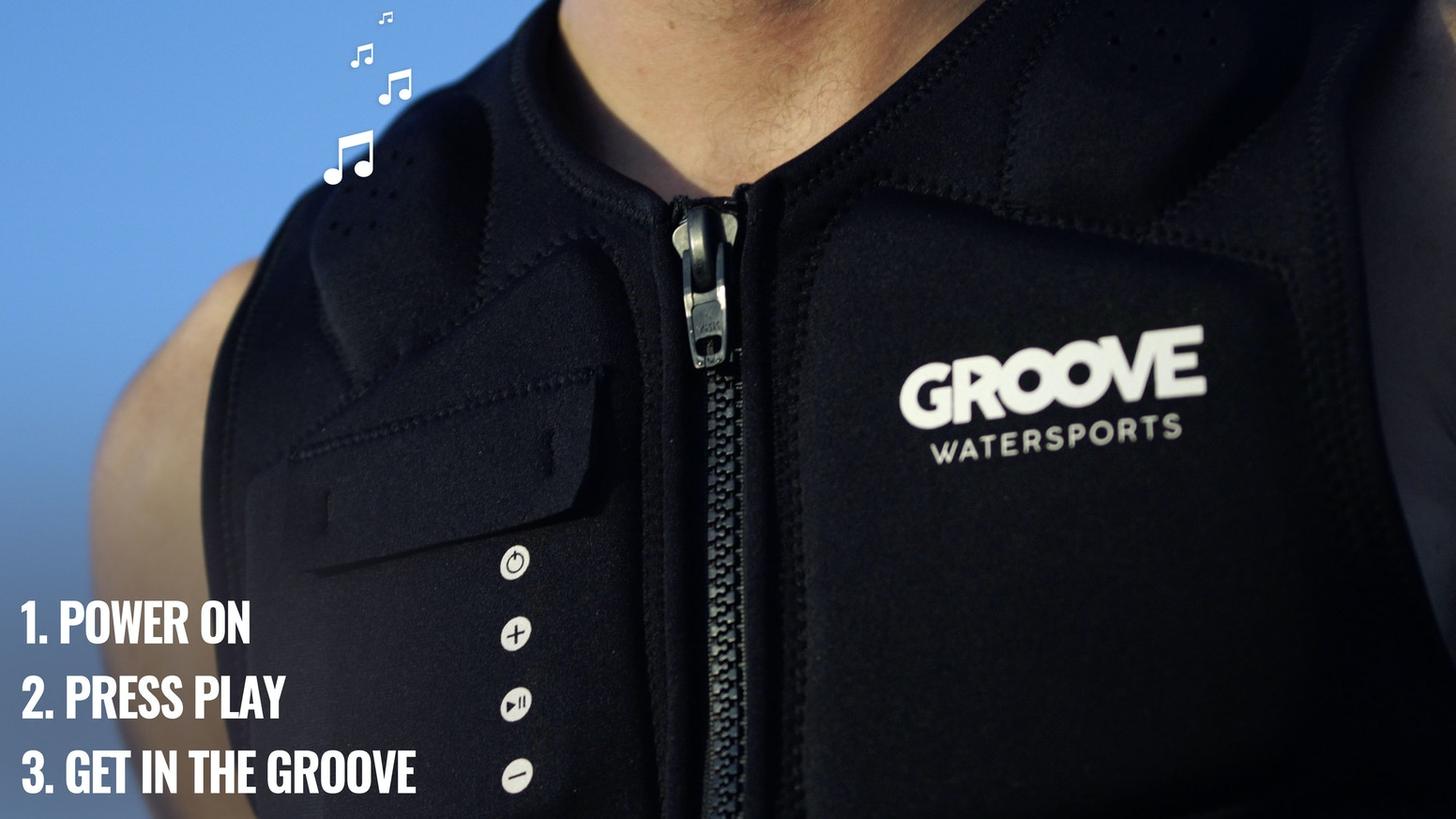 Groove Vest: Music for Watersports by Groove Watersports