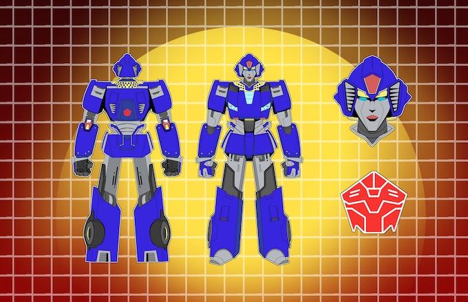 """Lux """"Belladonna"""" Maximo, Symbitron Warrior."""