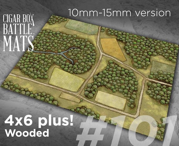 Cigar Box Battle Double Sided Battle Mats New Designs By Cigar Box Battle Kickstarter