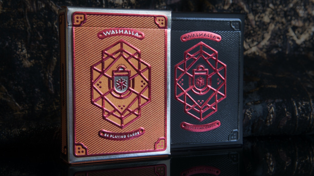 Project image for Walhalla Playing Cards