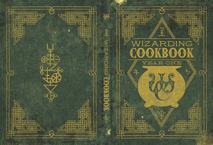 The cover for this beautiful cookbook!