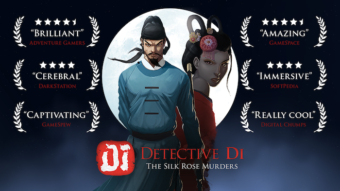 A beautifully pixelated point-and-click thriller set in ancient China where you play as the legendary detective Di Renjie.
