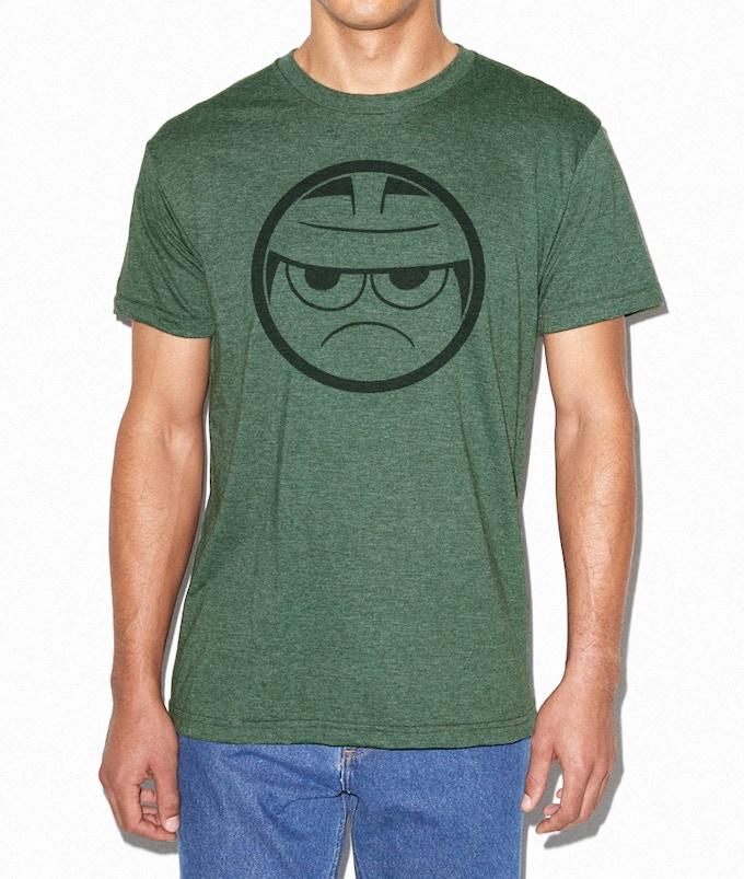 mock-up of shirt