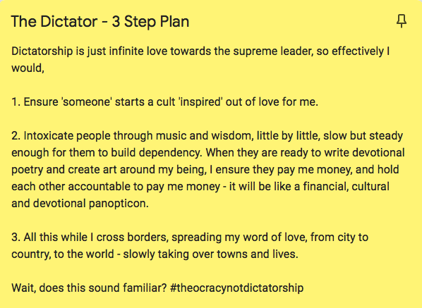 Here's a copy of the 3 Step plan. Unfortunately, we couldn't link to the profile due to privacy settings.